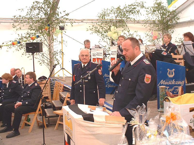 Musikerfest der Musikvereinigung Lauenburg Mitte 2005 in Güster